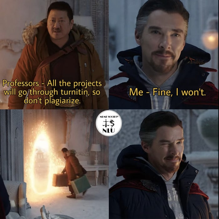 Fine I Won't Meme - plagiarizing