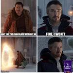 Fine I Won't Meme - chocolate