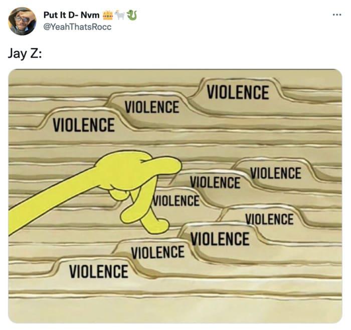 Jay Z Memes - Violence