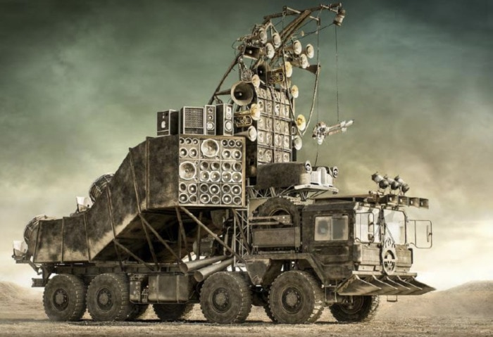 Mad Max Fury Road Cars - Doof Wagon