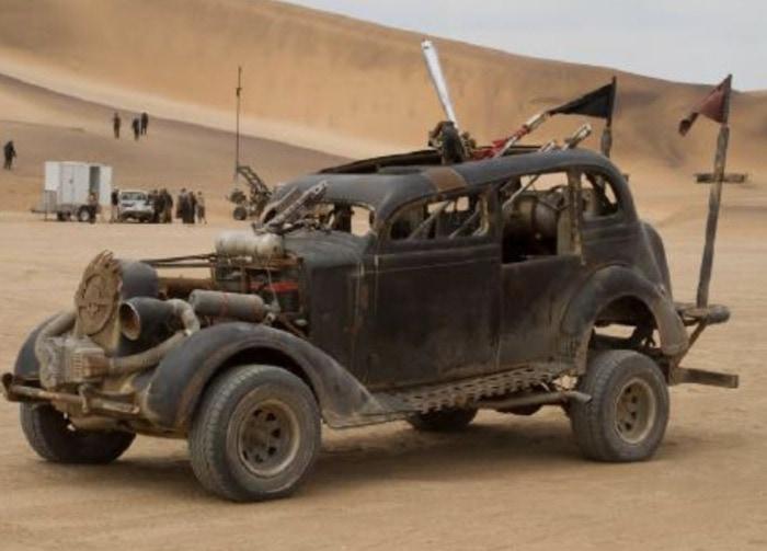 Mad Max Fury Road Cars - Fire Car