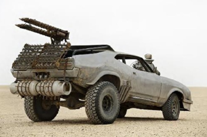 Mad Max Fury Road Cars - Razor Cola