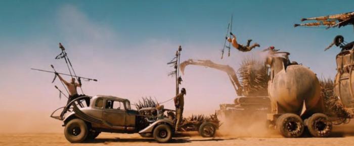 Mad Max Fury Road Cars - Nux Car