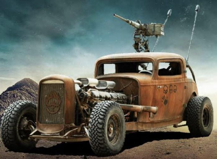 Mad Max Fury Road Cars - Convoy Car Elvis