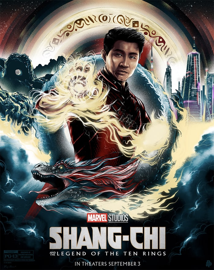 Shang Chi Facts - Illustrated Poster