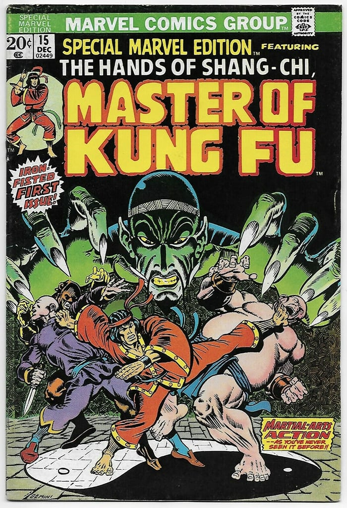Shang Chi Facts - Master of Kung Fu Comic