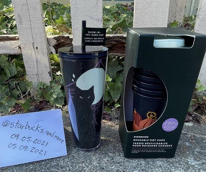 Starbucks Halloween Cups - Pumpkin Hot Cups