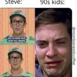 Steve Blues Clues