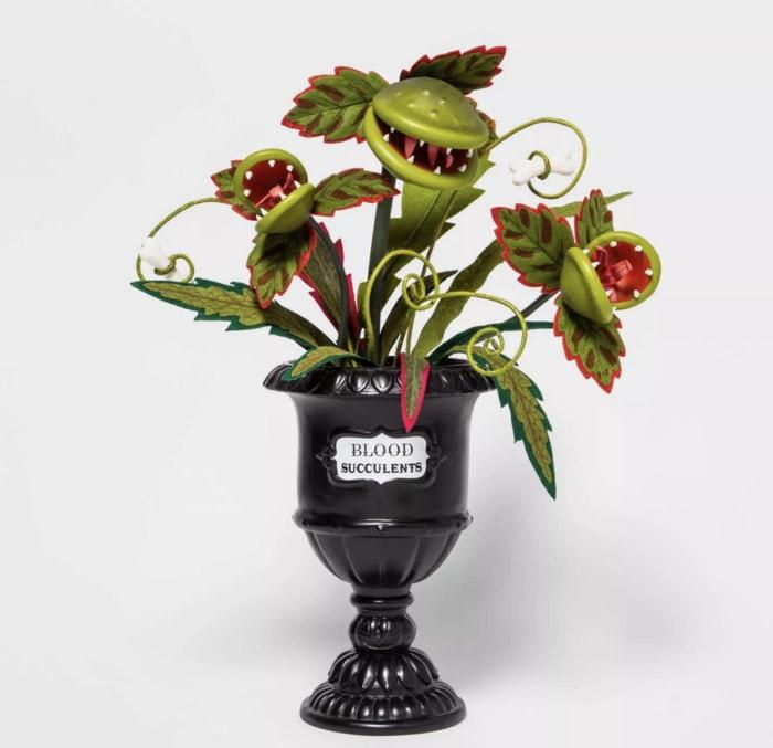 Target Halloween Faux Succulents - Venus Fly Trap