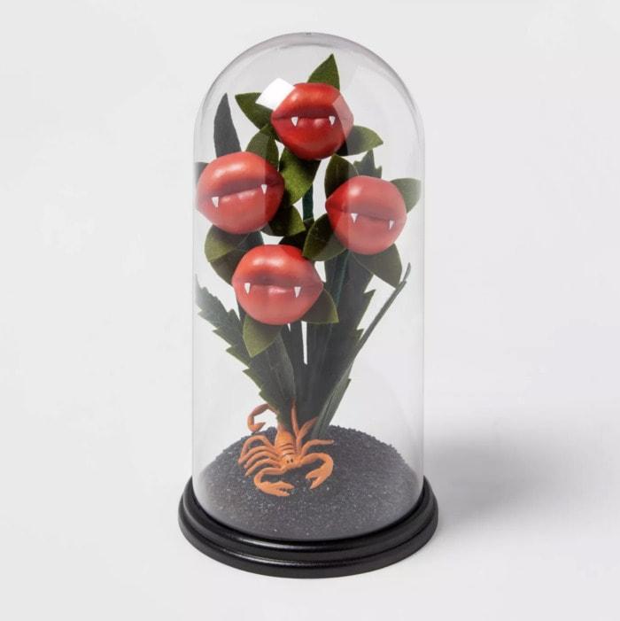 Target Halloween Faux Succulents - Lips Cloche