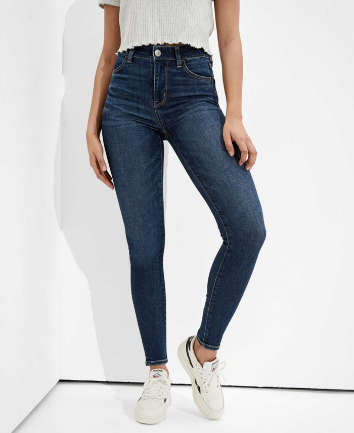 Best Jeans for Women - American Eagle Stretch Jeggings