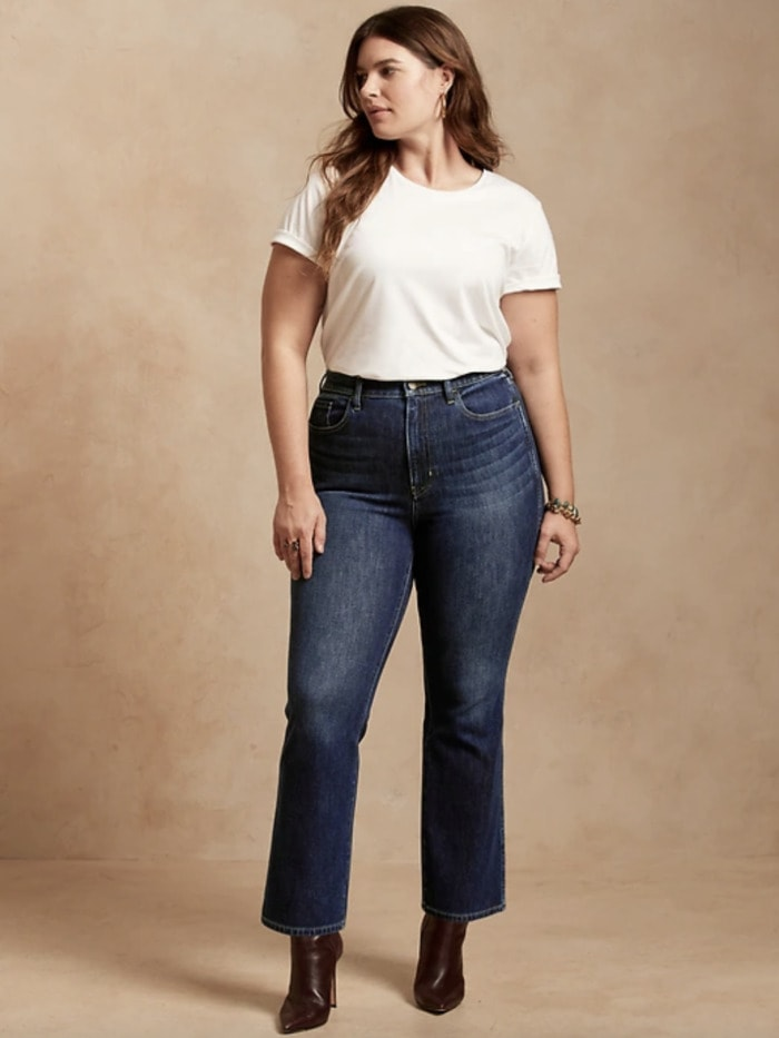 Best Jeans for Women - Banana Republic Boot Cut