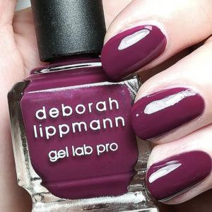 Burgundy Nail Polishes - Deborah Lippman Gel Spill the Wine
