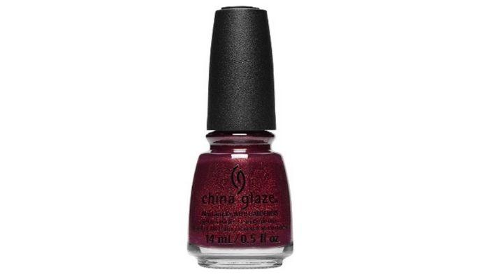 Burgundy Nail Polishes - China Glaze Kiss & Spell