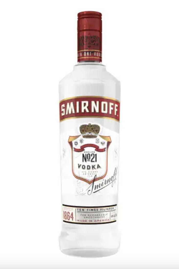 Cheap Vodkas - Smirnoff