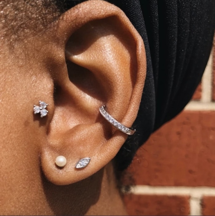 Conch Piercing - outer conch jewelry