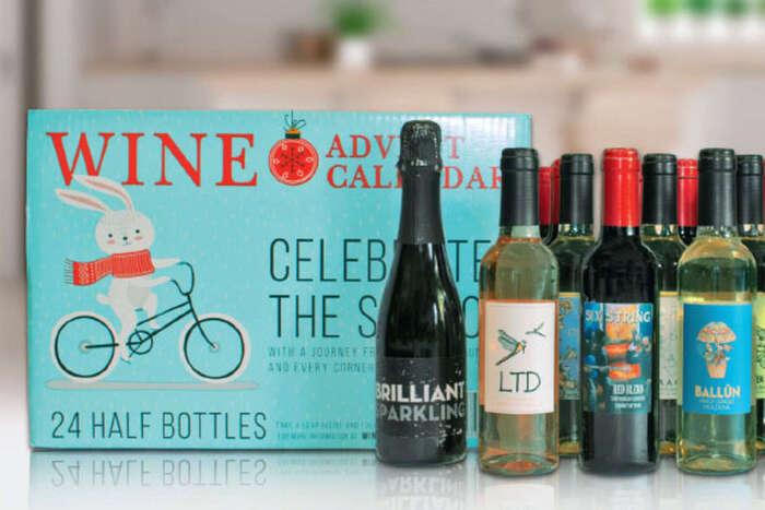 Costco's Beer and Wine Advent Calendars - Wine calendar