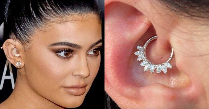 Daith Piercing - Kylie Jenner