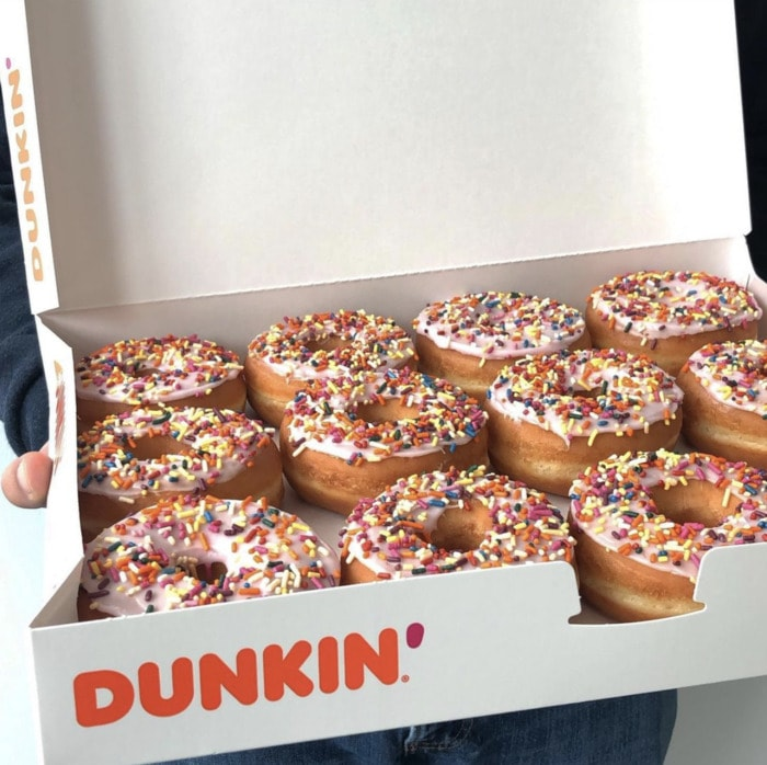 Dunkin Donuts Flavors - Vanilla Frosted