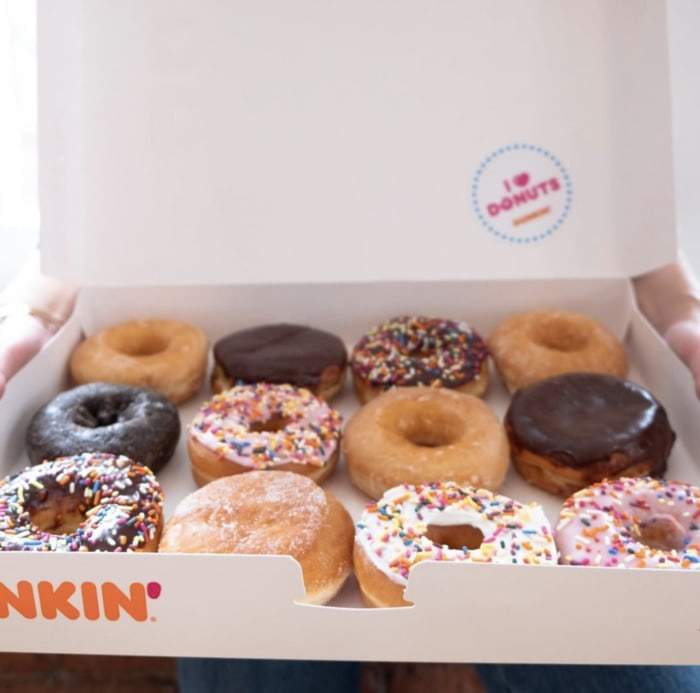 Dunkin Donuts Flavors - Box of Donuts