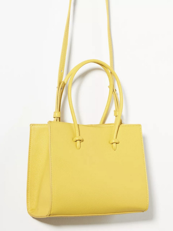 Fall Bags - Anthropologie Mini Contrast Tote Bag