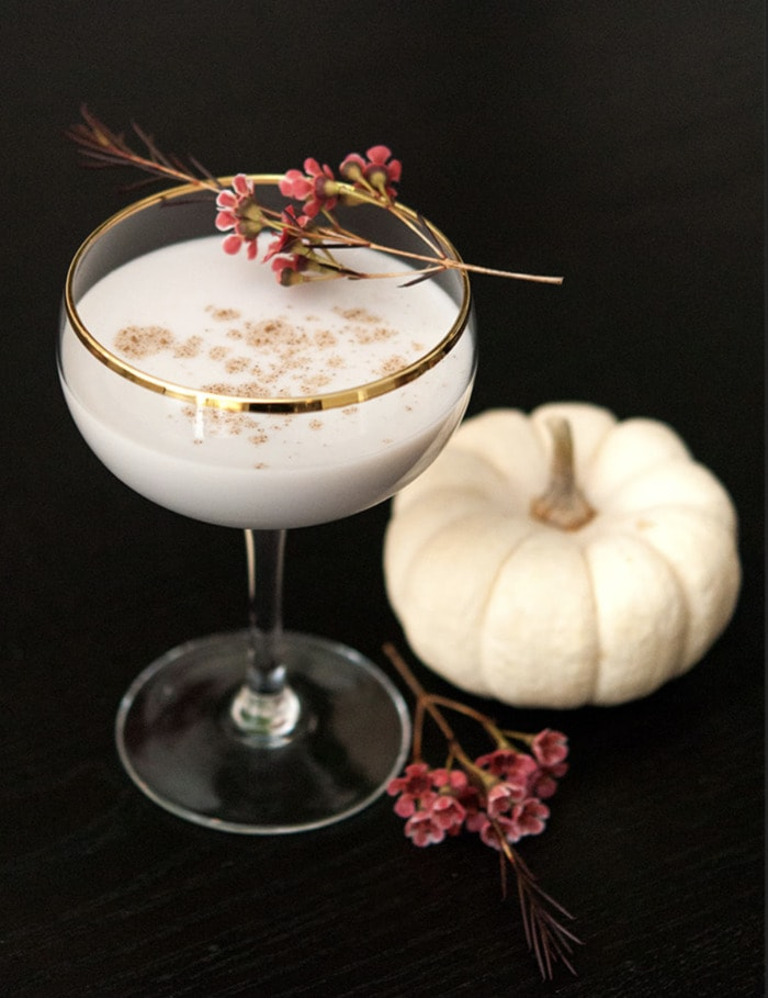 Fall Cocktails - White Pumpkin Cocktail