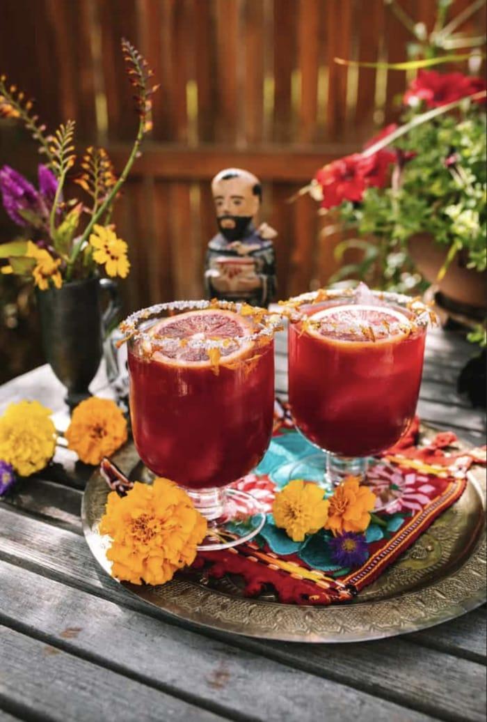 Fall Cocktails - Blood Orange Margarita