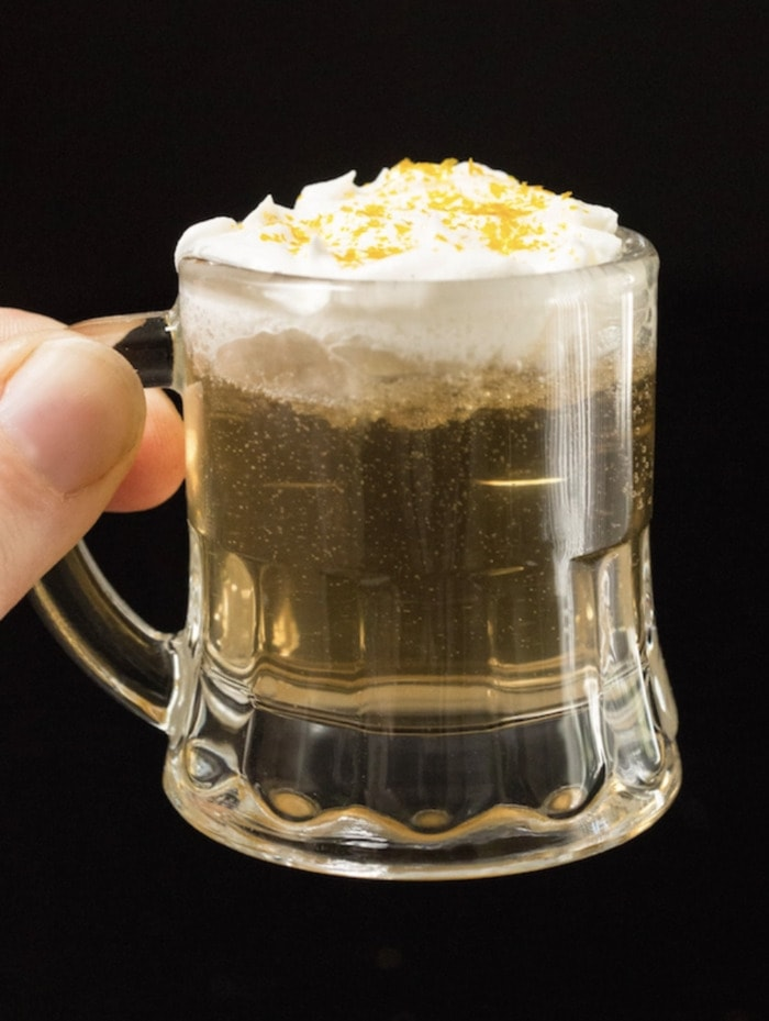 Fall Cocktails - Butterbeer shots