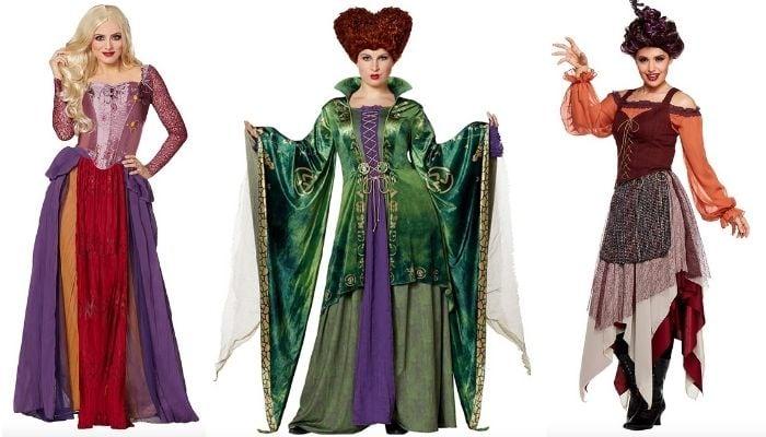 Halloween Costume Ideas 2021 - Hocus Pocus Sanderson Sisters