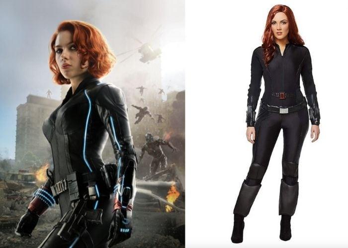 Halloween Costume Ideas 2021 - Black Widow
