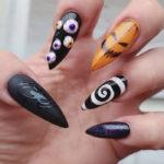 Halloween Nail Designs - Monster Mash nails
