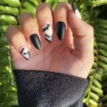 Halloween Nail Designs - batty press on nails