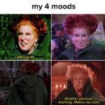 Hocus Pocus Memes - 4 moods