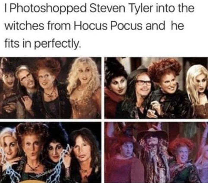 Hocus Pocus Memes - Steven Tyler remake