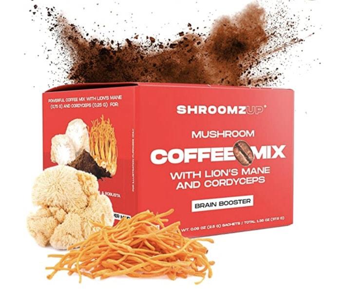 Mushroom Coffee - ShroomzUp