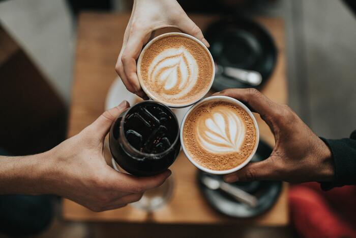National Coffee Day - coffee cups