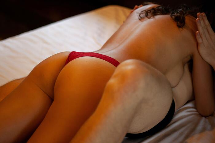 69 Position - couple in bed