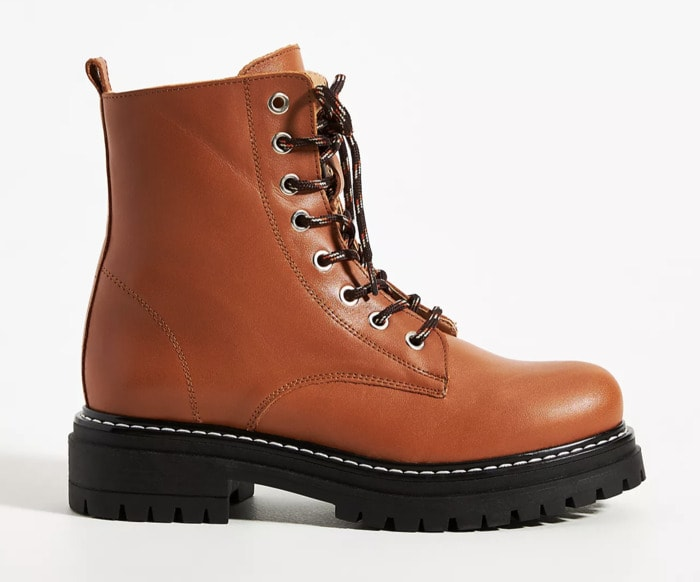 Fall Boots 2021 - Brown Leather Hiker Boot