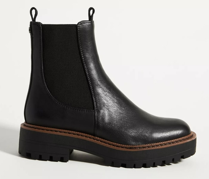 Fall Boots 2021 - Black Leather Stretch