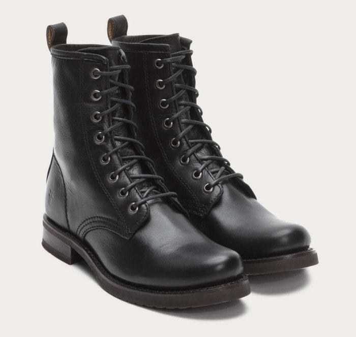 Fall Boots 2021 - Black Combat Boot