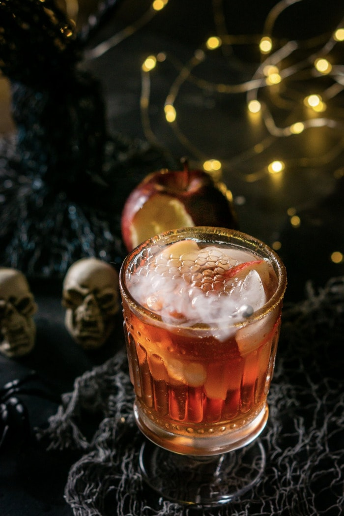 Halloween Cocktails - Poisioned Orchard