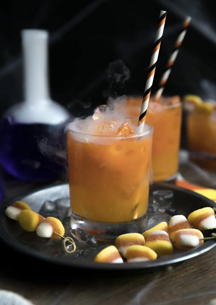 Halloween Cocktails - Carrot Gin