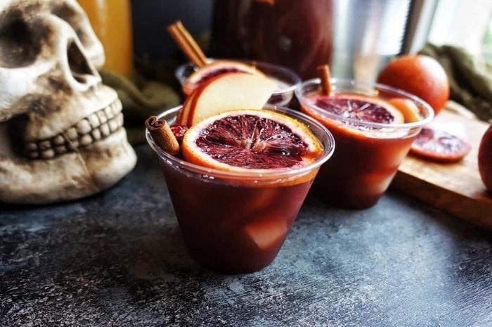 Halloween Cocktails - Sangria
