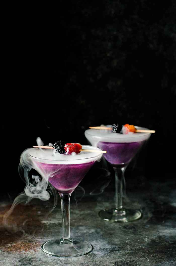 Halloween Cocktails - Witches Heart