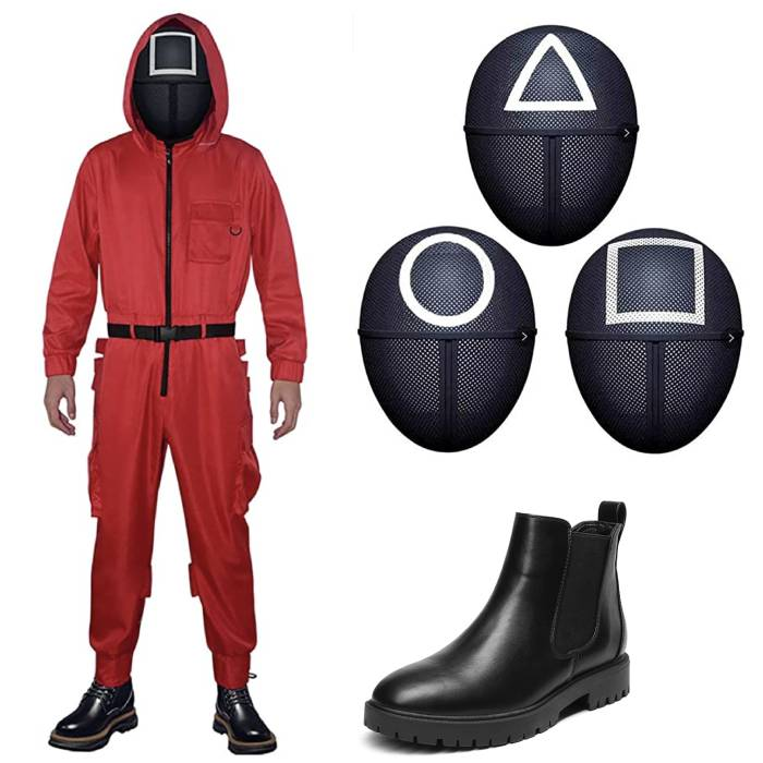 Squid Game Costume Halloween - Guards