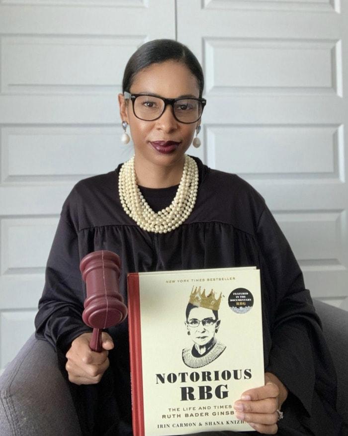 Easy Halloween Costumes - Ruth Bader Ginsburg
