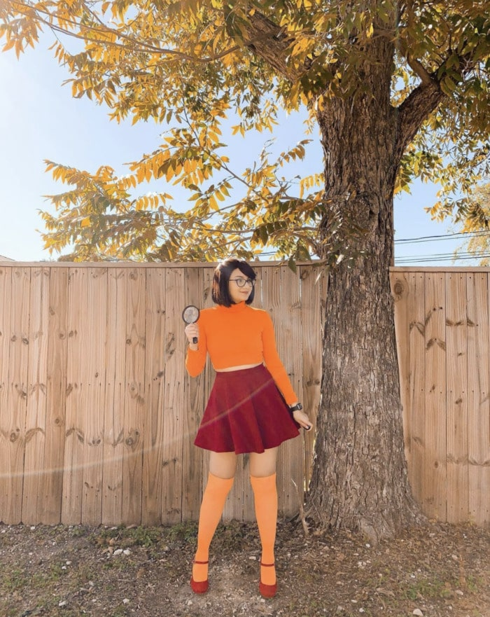 Easy Halloween Costumes - Velma Scooby Doo