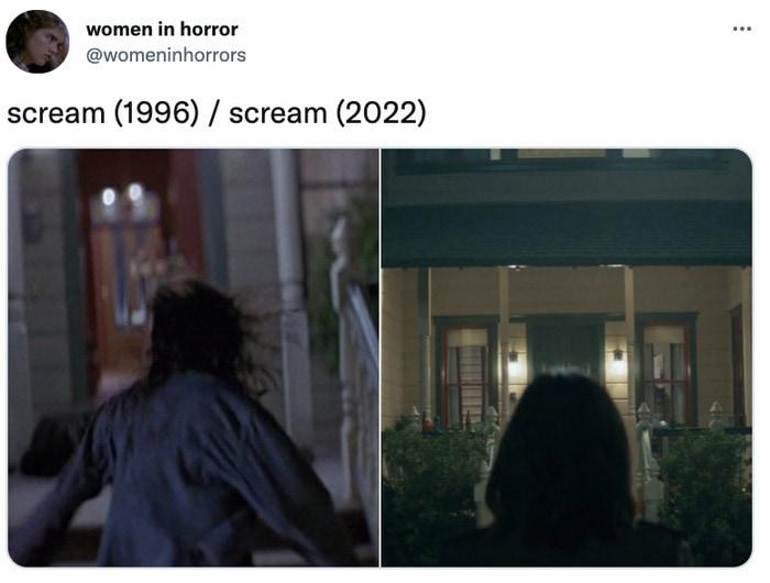 Scream Trailer Easter Eggs - house parallels