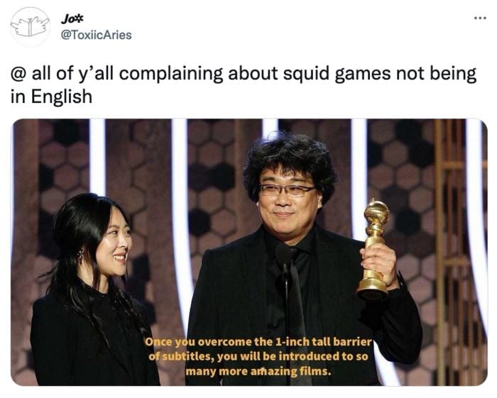 Squid Game Memes - subtitles