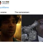 Squid Game Memes - cameraman